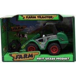Tractor cu echipament frontal pentru manevrat busteni
