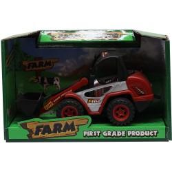 Tractor cu cupa frontala