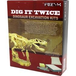 Set arheolog dinosaur - Reutilizabil